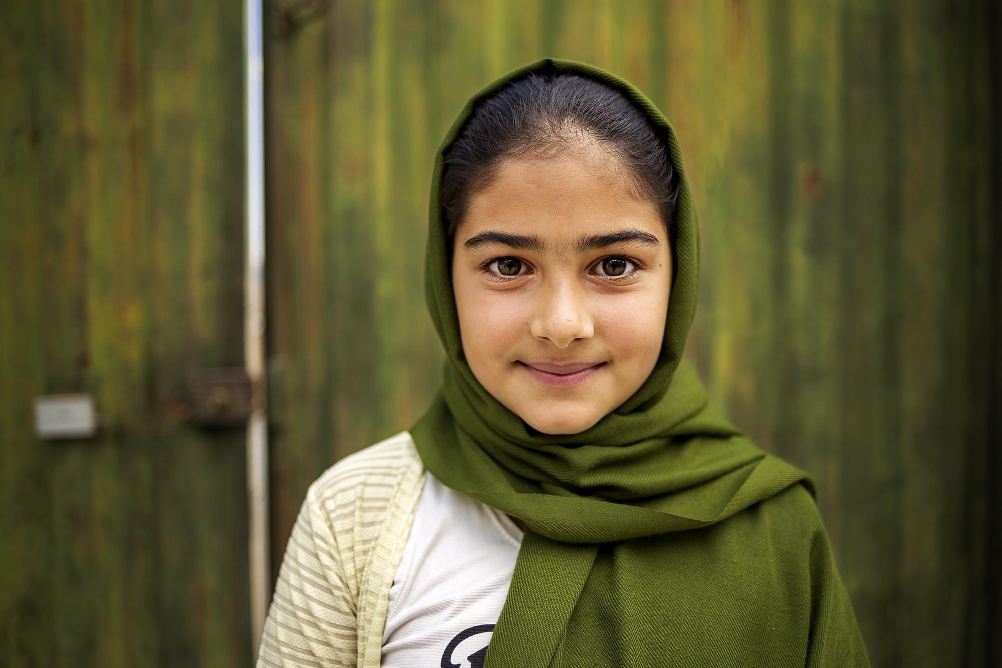 Mädchen aus Golestan